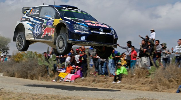 Sebastien Ogier - WRC en Mexico
