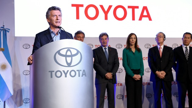 Toyota Planta Zarate - Mauricio Macri