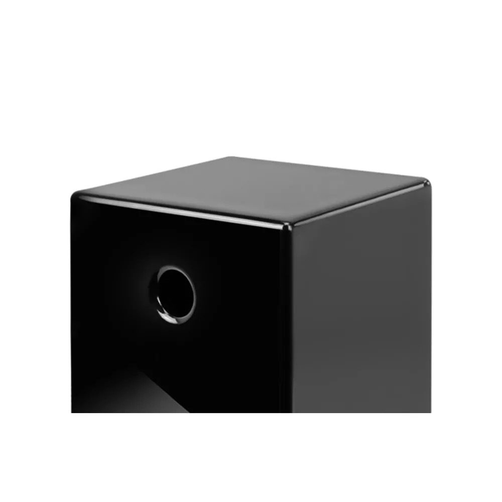 "Subwoofer ativo - AAT Cube Modern 12"" - 600W RMS- Black Piano"
