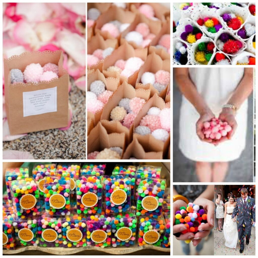 Alternatives To Wedding Confetti Perfect Details