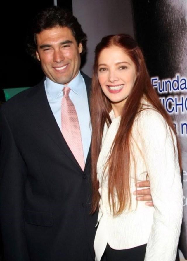 Adela Noriega si Eduardo Yanez in telenovela Fuego en la sangre