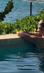 Brooke Shields, într-o vacanță exotică, alături de familie.