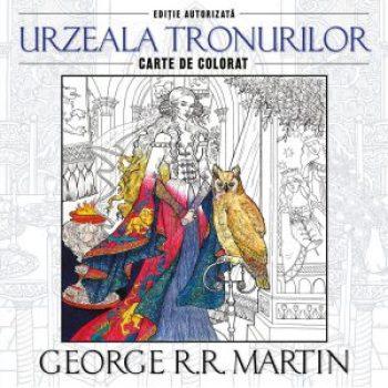 """Seria """"Urzeala tronurilor"""" este disponibilă aici și în varianta de cărți de colorat antistres pentru adulți."""