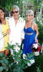 Simona Florescu si Ion Dichiseanu, alaturi de fiica lor
