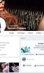 pagina de Facebook a lui Răzvan Ciobanu