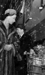 Elisabeta a II-a, în vizită în SUA, în 1957