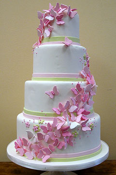 Amazing Butterfly Wedding Cake Designs butterfly wedding cake designs