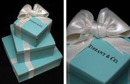 Tiffany Wedding Cake Amp Blue Gift Box Cake Designs