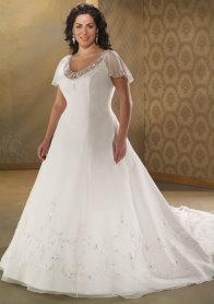 wedding-dress-styles, Bonny 1713, plus size wedding dress