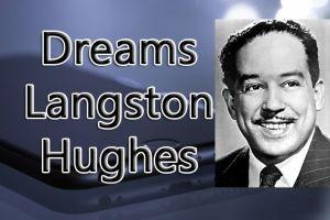 Stanza Comprehension Poem 1 Dreams Langston Hughes Class 10