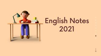 English notes for class 10 kpk board 2021 up to date