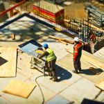 Construction work is a cause of noise pollution as the machinery used for the construction work produces noise