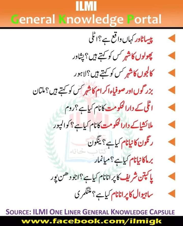 Important General knowledge PDF Downalod 17