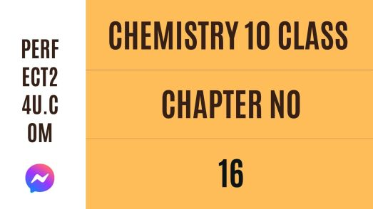 KPK Class 10 Chemistry Notes Chapter #16   (Chemical Industries)