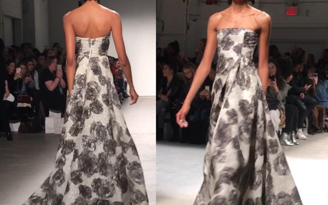 Leanne Marshall runway show NYFW F/W 2017