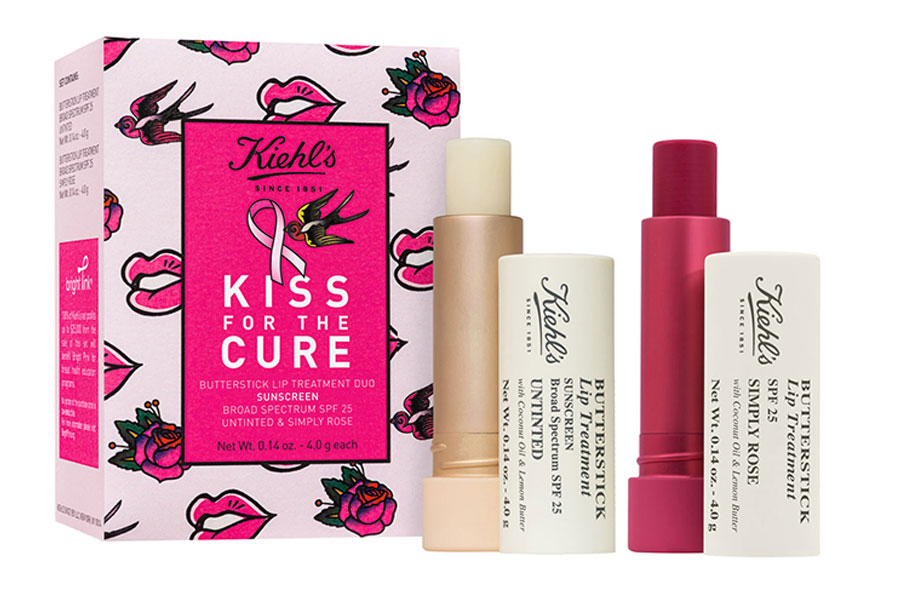 Kiehl's Kiss for the Cure Butterstick Lip Treatment Duo