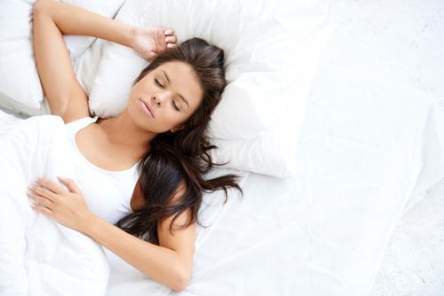 Getting plenty of sleep helps with dark circles