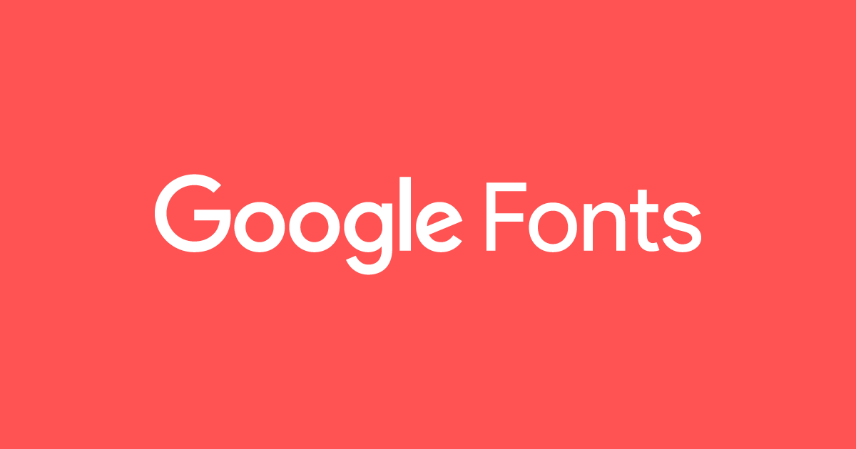google fonts full catalogue