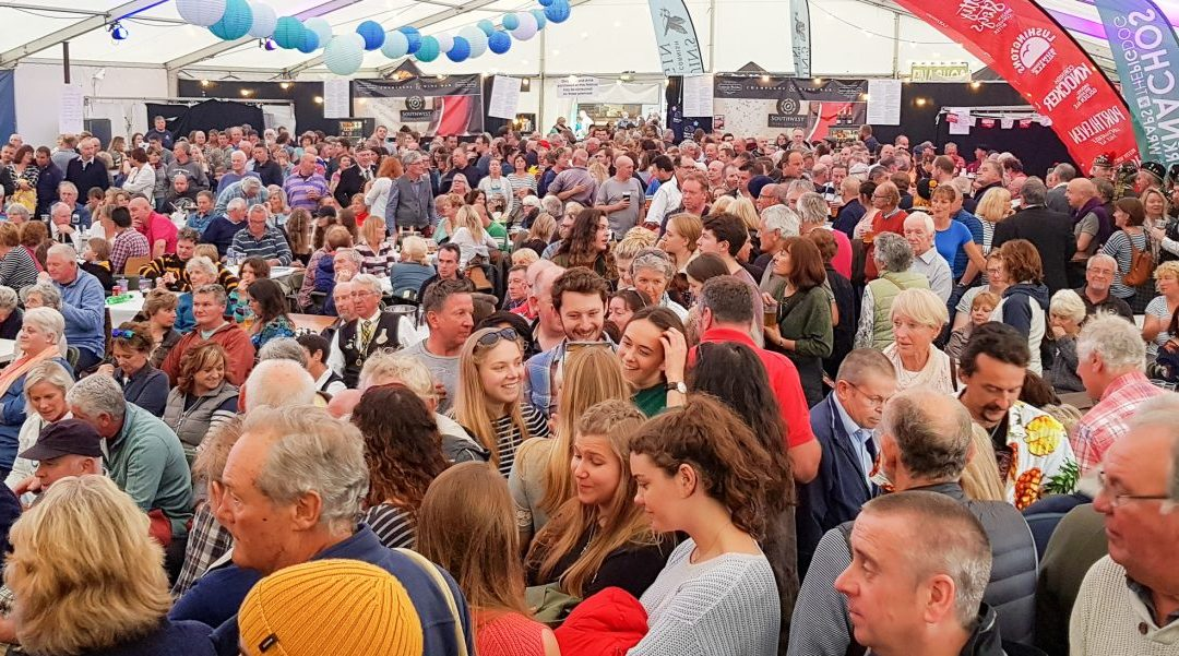 Falmouth Oyster Festival draws in the crowds again