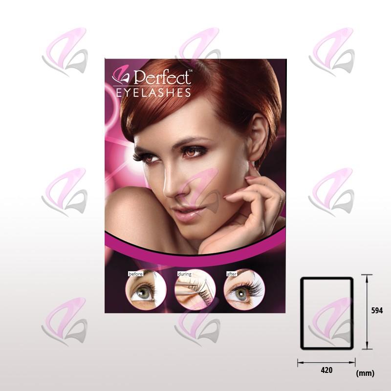 wall poster eyelash extensions