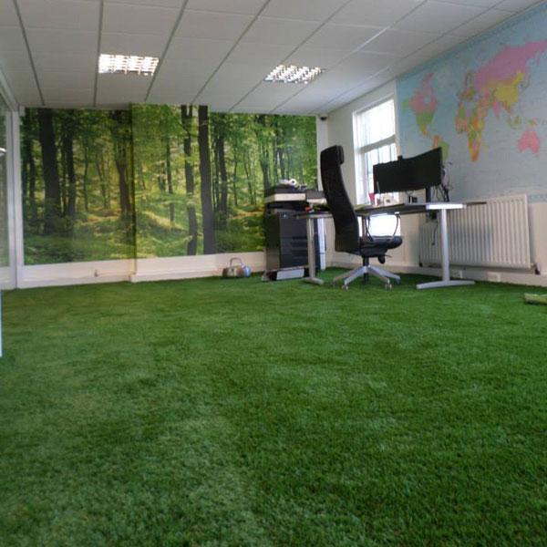 Artificial Grass Office I Perfect Grass Ltd