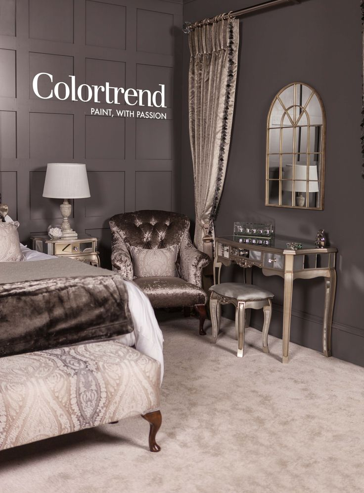 Our 50 Shades Of Grey Bedroom Is A Hit At Ideal Home
