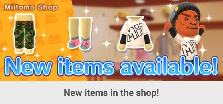Miitomo – content update for September 22, 2017 | PerezStart