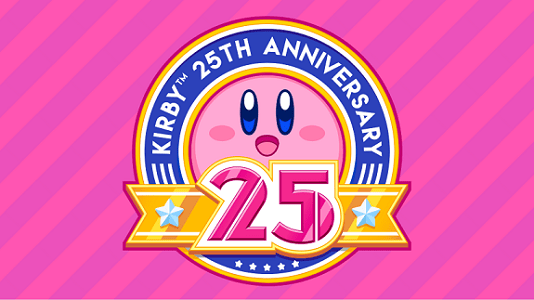 Image result for kirby 25th anniversary