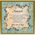 Namaste - We Are One!
