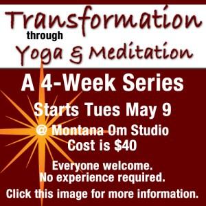Transformation Through Yoga & Meditation