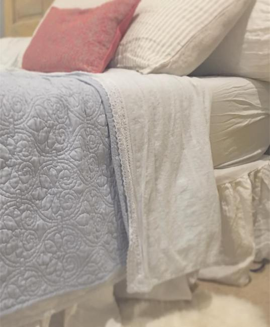My Love of Linen Bedding & Sources