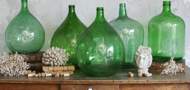 Decorating With Demijohn Bottles
