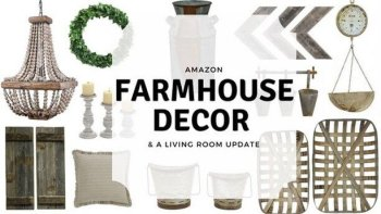 Favorite Amazon Farmhouse Decor