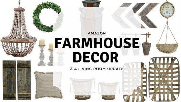 Favorite Amazon Farmhouse Decor