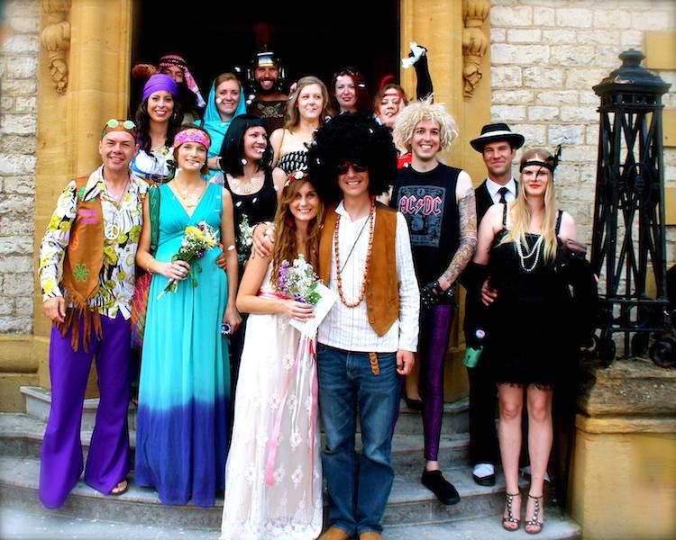 Hippy Wedding in Oxford
