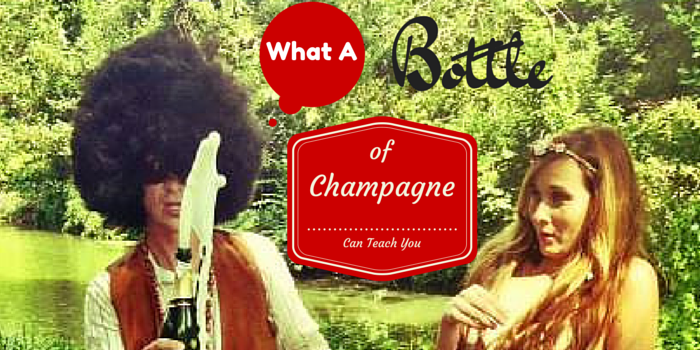 What a Bottle of Champagne Can Teach You: Ponderings From My First Wedding Anniversary