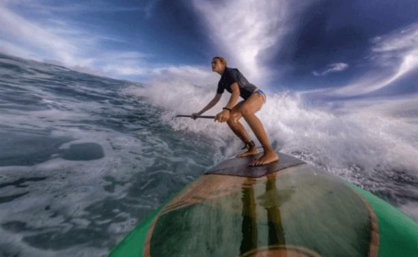 Suzie Cooney Trains Maui Core Stability