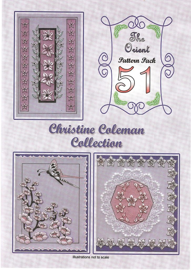 Christine Coleman The Orient Pack 51 CCPatternPack51 A