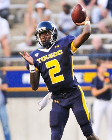 Terrance Owens is a Quarterback from Cleveland, Ohio. He played college football at the University of Toledo. Photo Credit: Slaweg