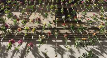 2.000 λουλούδια μεγαλώνουν σε πρόσοψη κτηρίου!