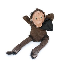Perfect Reject #090 Monkey having a bad day. Quirky Gift - Front View