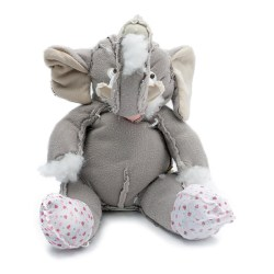 Perfect Reject #094 Elephant with booties Unique Gift - Front View