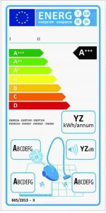 Eficienta energetica aspiratoare 2017
