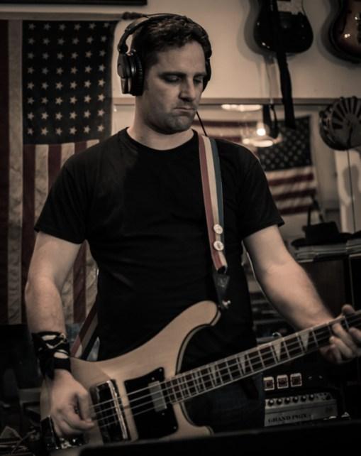Bass guitar.