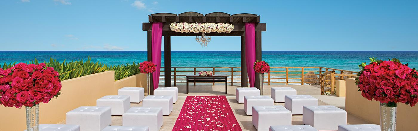 Weddings At Now Jade Riviera Cancun Weddings Abroad