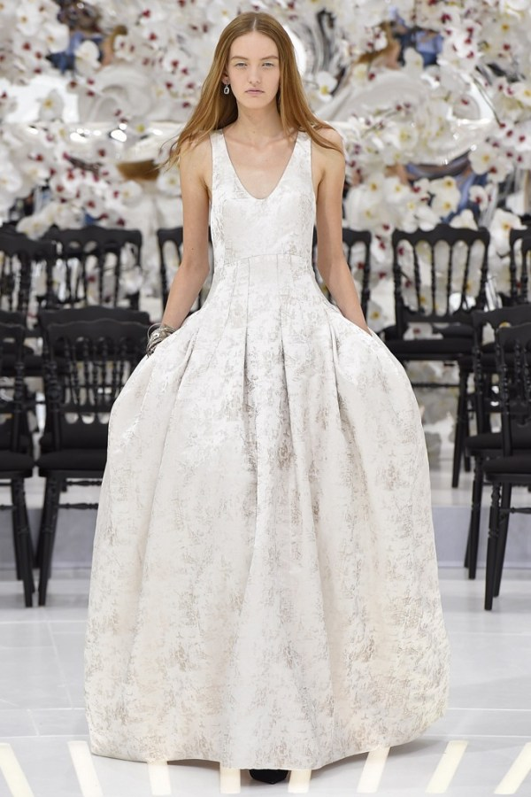 Dior Bridal Inspiration from Paris Couture Week