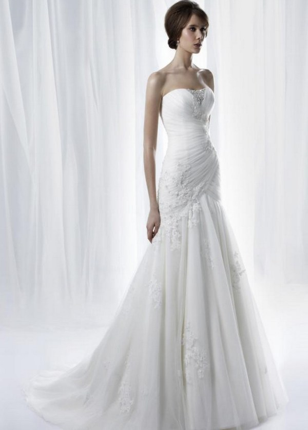 Used Anjolique Wedding Dress