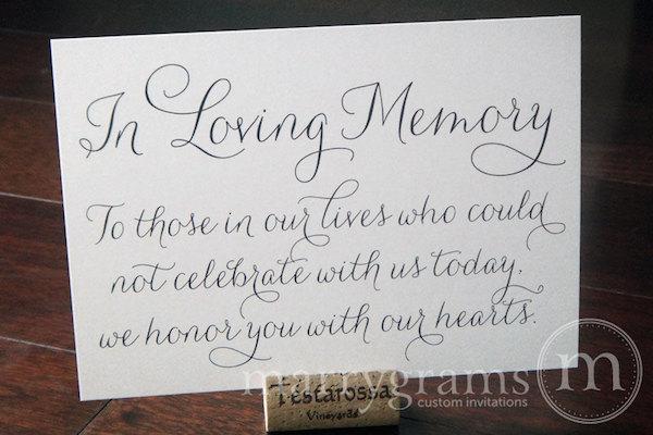 Memory of Lost Loved Ones