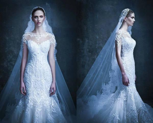 Michael  Cinco Couture Bridal 2014