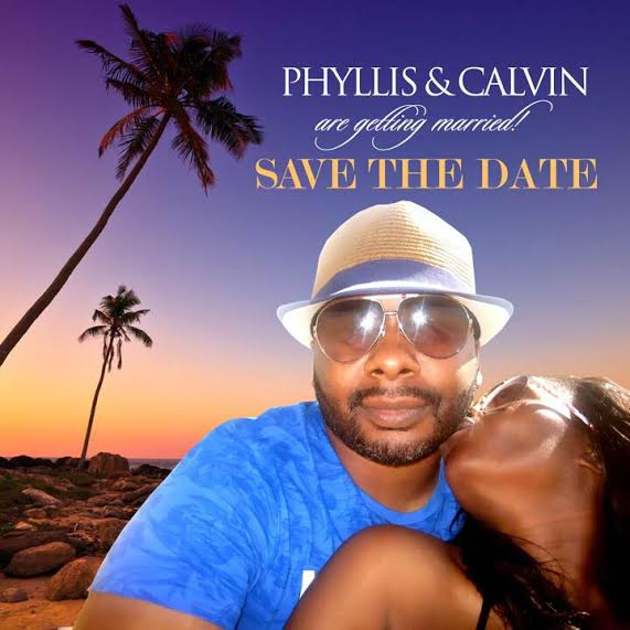 Phyllis and Calvin Save the Date